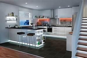 Unterschrank Beleuchtung Küche : k chenbeleuchtung funktional und stimmungsvoll paulmann licht ~ Markanthonyermac.com Haus und Dekorationen