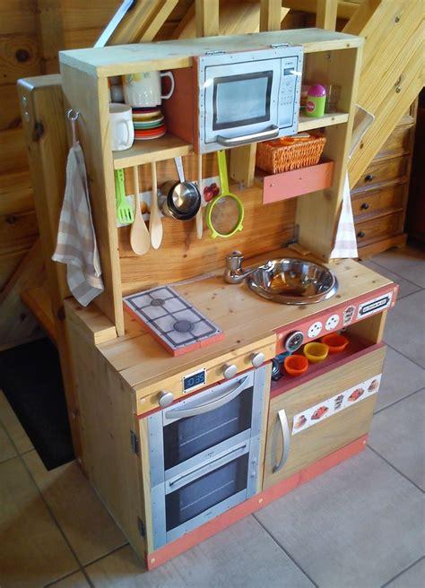cuisini 232 re en bois pour enfant fait maison diy cuisines enfants