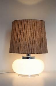 Große Wohnzimmer Lampe : gro e 60ies lampe mit glasfu raumwunder vintage wohnen in n rnberg ~ Markanthonyermac.com Haus und Dekorationen