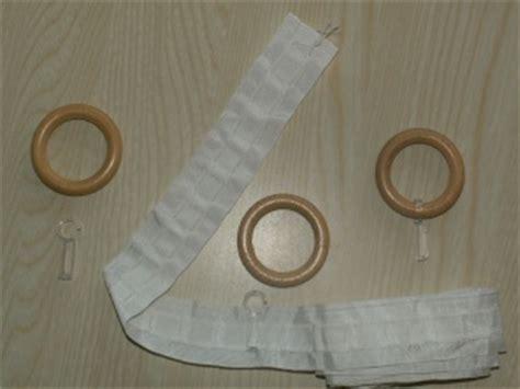 comment coudre des anneaux en bois sur un rideau