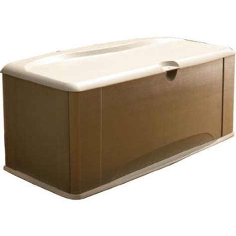 rubbermaid large deck box with seat review