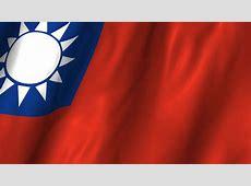Taiwan Flag Waving HD Wallpaper, Background Images