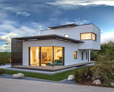 top photos ideas for modern home design the intriguing concept poing house in munich germany