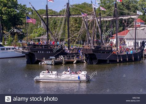 Christopher Columbus Boats In Pittsburgh by Christopher Columbus Ships Stock Photos Christopher