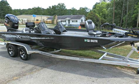 Xpress Fishing Boat For Sale by Xpress X21 Pro Team Tournament Bass Fishing Boat 2016