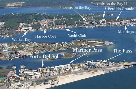 Key West Boats Daphne Al by Orange Beach Al Boat Access Condos Image Map Search