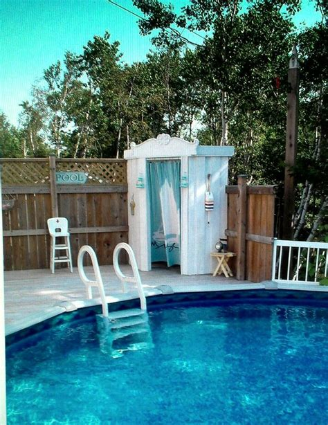 1000 images about small shed cabana on pool