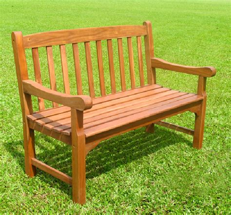 Jubilee 2 Seater (4ft) Bench  Simply Wood