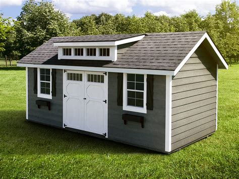 Garage Shed : Great 18 Prefab Sheds For Your Garden