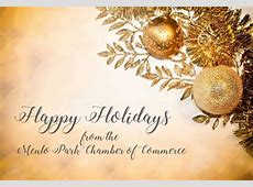 Happy Holidays from the Menlo Park Chamber of Commerce!