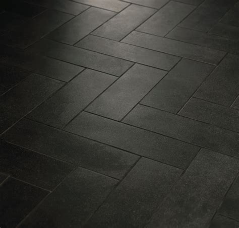 herringbone pattern with crossville tile line boutique black use light grout