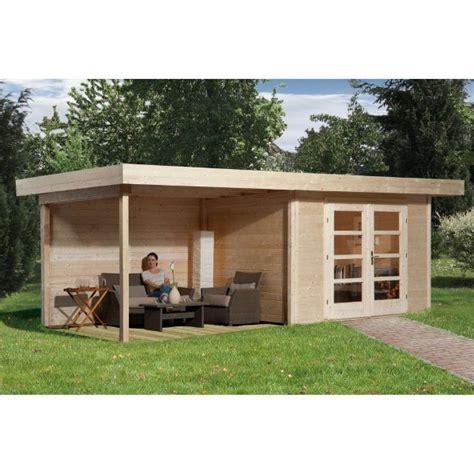 abri jardin bois quot chillout 3 quot 28 mm appentis ferm 233 300 cm abri de jardin en bois achatmat