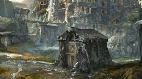 Witcher 3 Home Decorations :  Assassins Of Kings Concept Art