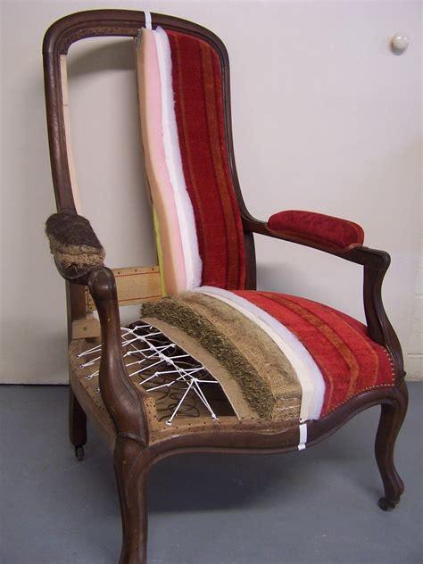 diff 233 rentes 233 de la r 233 novation d un fauteuil tapisserie graffard