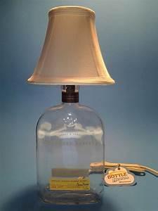 Woodford Reserve® Liquor Bottle Table Lamp W/ White Shade ...