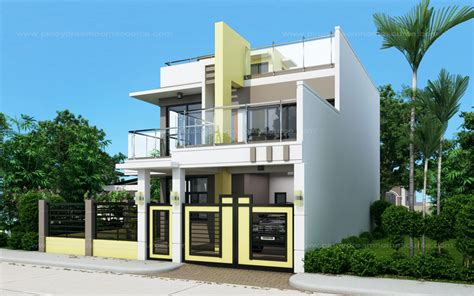 best 10 storey house plans ideas on prosperito single attached two story house design with