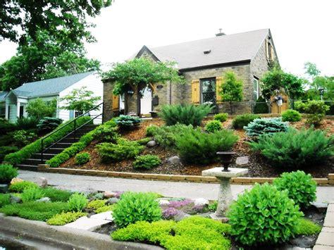 Slope Yard Ideas front yard slope landscaping ideas