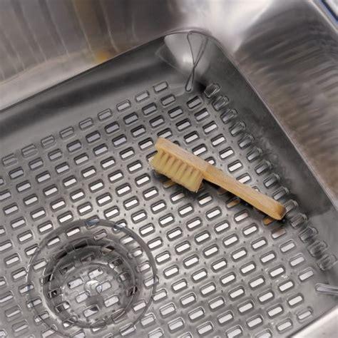 interdesign contour kitchen sink protector mat graphite new ebay