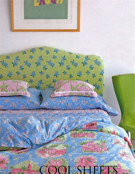 lilly pulitzer s bedding by dan river palm toile duvet cover headboard fabric is tiger