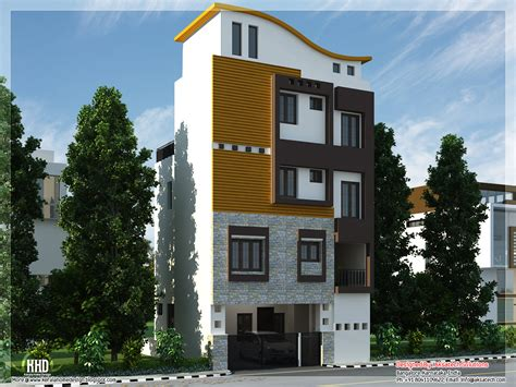 3 Floor Home Design : Mix Collection Of 3d Home Elevations And Interiors