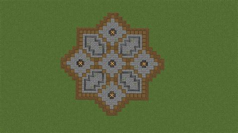 a floor design for a plaza rebrn
