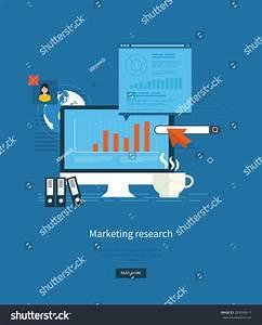Flat Design Illustration Concepts Business Analytics Stock ...