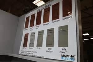 visiting masterbrand cabinets in carolina the martha stewart