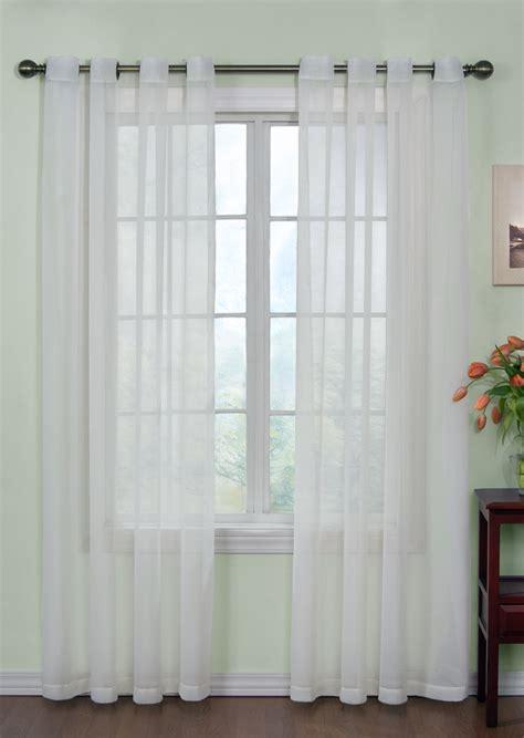 curtain fresh arm hammer sheer grommet curtains