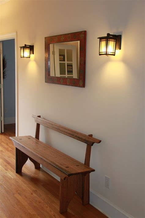 Shaker Hall Foyer Bench Seating  Benches, Foyers And