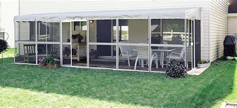 10 patio mate 7 panel screen enclosure patio mate