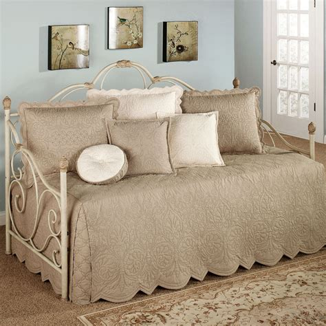 evermore almond daybed bedding set