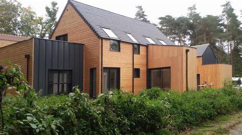 maison ossature bois design 224 seine et marne en bois en kit
