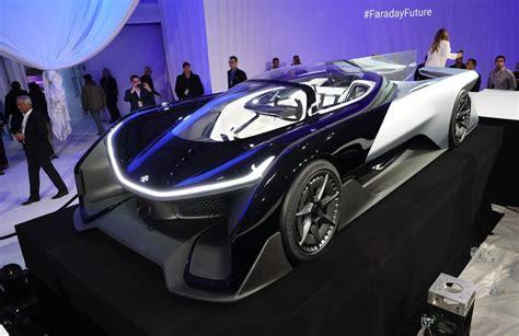 Faraday Future Ffzero1, Un Conceptcar Aussi étrange Que