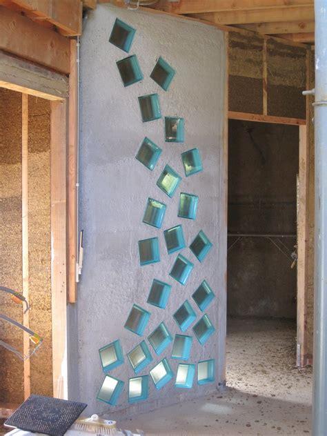 mur en brique de verre salle de bain inspirations avec cuisine mettons des briques de verre