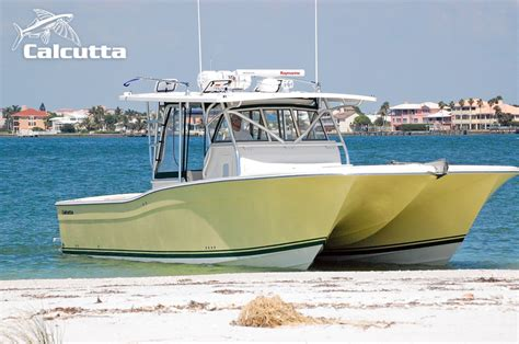 Catamaran For Sale Fishing by Calcutta 390 Offshore Fishing Catamaran Boat