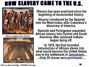 Beginning of slavery by ponycar2400's