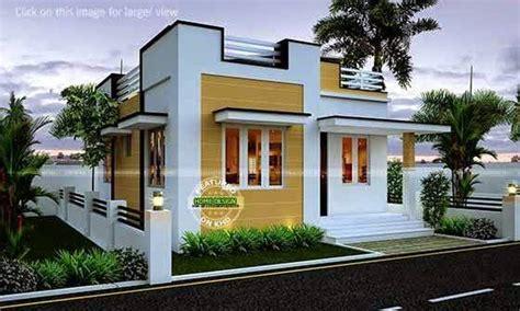 2 Bhk Home Interior Design Low Budget : Single Floor Home Design