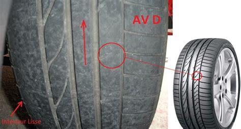 usure pneu facette arriere auto unelmat