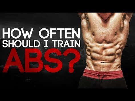 How Often Should You Train Your Abs? Youtube