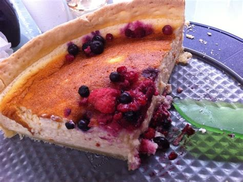tarte au fromage blanc et coulis de fruits rouges blogs de cuisine