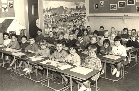 photo de classe 1965 ecole maternelle condorcet 94700 maisons alfort ms maternelle