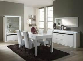 design salle manger blanc accueil design et mobilier