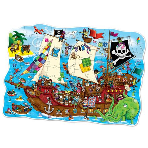 Schip Puzzel by Pirate Ship Jigsaw Puzzle