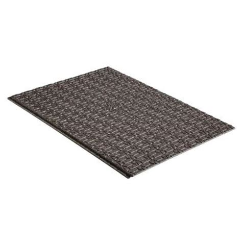 Patio Materials Home Depot by 20 04 In X 36 In Black Brock Paver Base Panel Pvb5b