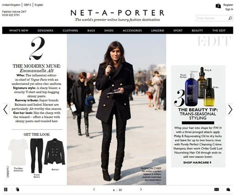 net a porter and the start of luxury fashion e commerce