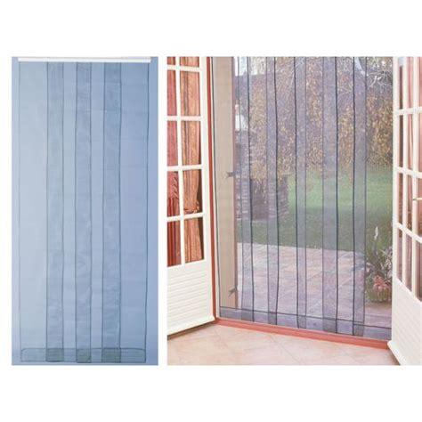 jardideco rideau de porte moustiquaire arles 100 x 220 cm pas cher achat vente