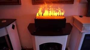 Elektrokamin 3d Flammeneffekt : elektro holzfeuer e 2850 s 50cm breit mit 3d wasserdampf von garvens ~ Markanthonyermac.com Haus und Dekorationen
