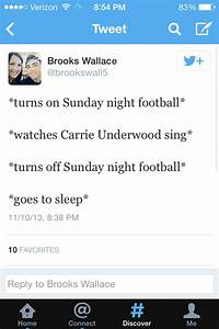 Sunday Night Football Live Tweets by Paige Schaffer | WGSS ...
