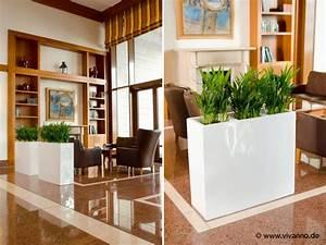 Pflanzen Für Wohnzimmer : raum trennen mit pflanzen kreativliste ~ Markanthonyermac.com Haus und Dekorationen