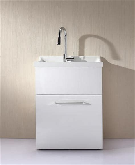 yani all in one utility sink with pull out faucet included similar to sink by ove basement
